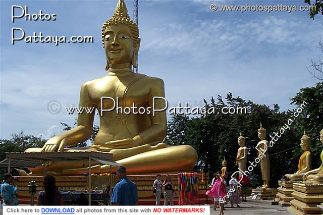 Big Buddha on Big Buddha hill Pattaya